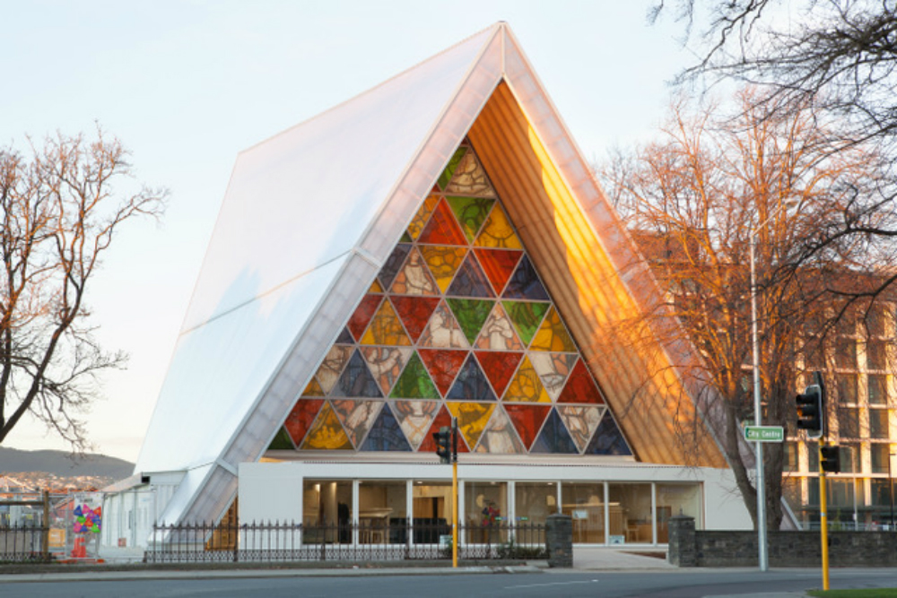 A Cathedral made out of cardboard? | New Zealand Story